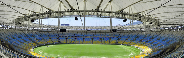 soccer stadium in Brazil
