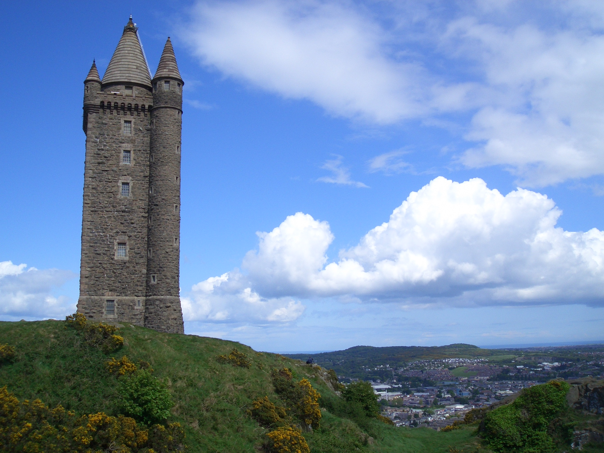 Scrabo Tower is one of the top tourist attractions in Newtownards