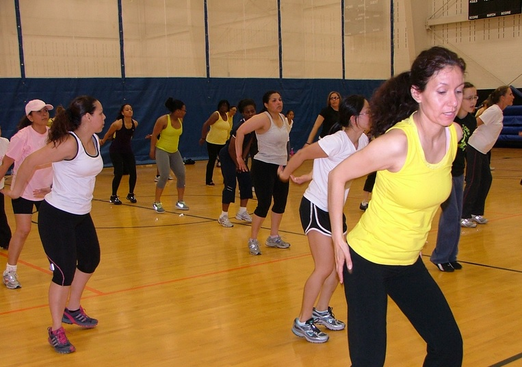 Group fitness classes like Zumba offer a fun, social and safe environment to get fit!