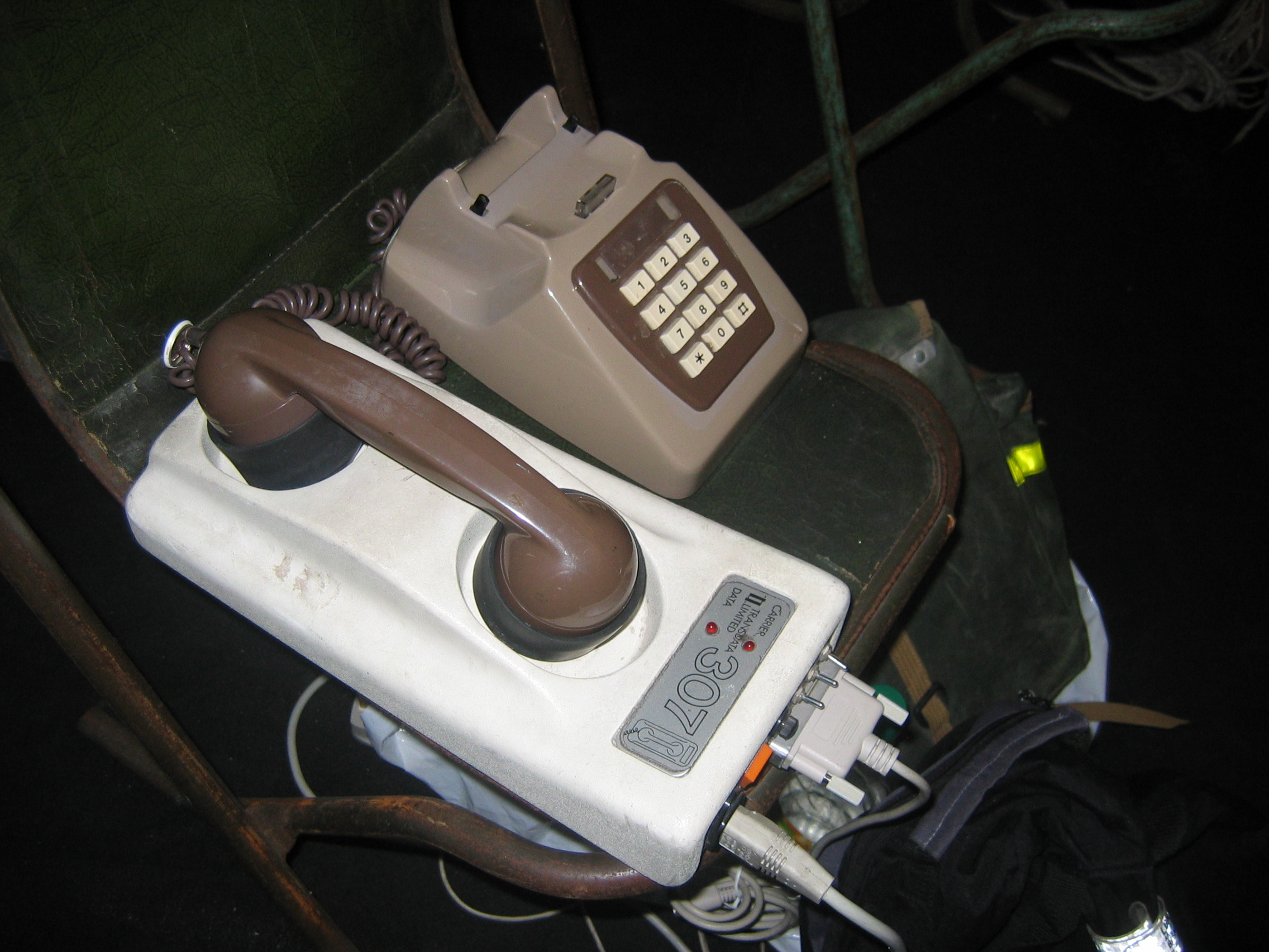 Can you believe we used to connect to the Internet using a contraption like this...?