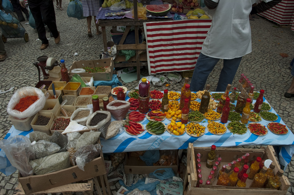 The food on offer at the Ipanema Sunday Market makes it one of the best markets in Rio