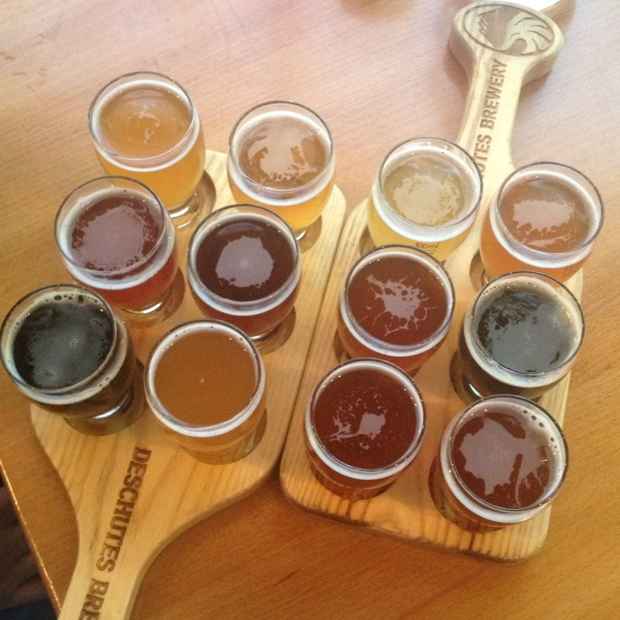 When in Portland (affectionately known as Beervana by many locals), take the opportunity to taste many of the local brews